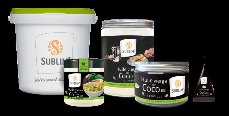 huile de coco